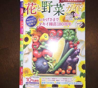 タキイ種苗カタログ春号